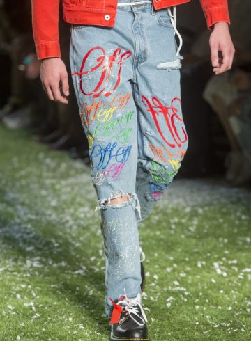 Off-White Spring 2019 Men's Fashion Show Details