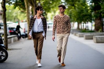 Paris Men's Street Style Spring 2019 Day 2