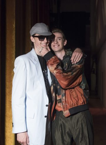 Paul Smith Spring 2019 Men's Fashion Show Backstage
