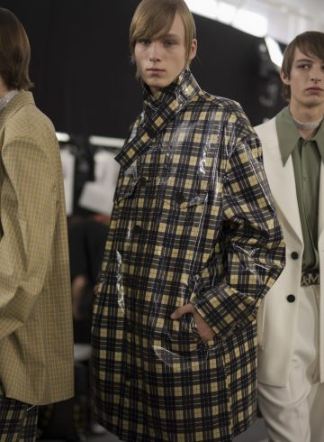 Wooyoungmi Spring 2019 Men's Fashion Show Backstage