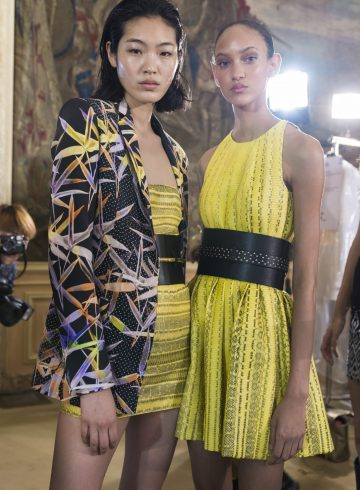 Azzaro Fall 2018 Couture Fashion Show Backstage