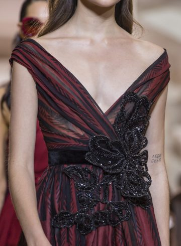 Elie Saab Fall 2018 Couture Fashion Show Details