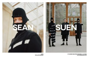 Sean Suen Fall 2018 Ad Campaign by Yu Cong