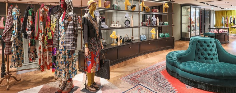 Gucci Revamped London Flagship Store