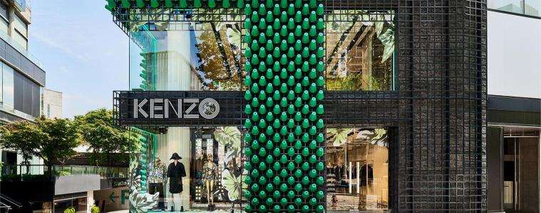 Kenzo façade in Seoul Store review