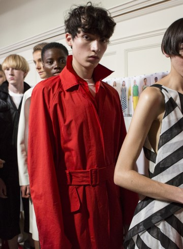 Jasper Conran Spring 2019 Fashion Show Backstage