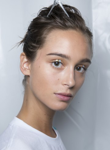 Emporio Armani Spring 2019 Fashion Show Backstage Beauty