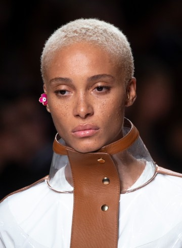 Fendi Spring 2019 Fashion Show Runway Beauty