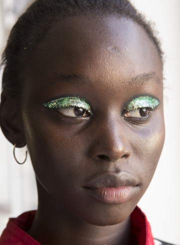 Halpern Spring 2019 Fashion Show Backstage Beauty
