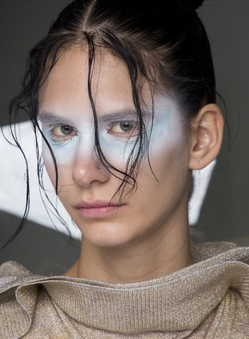 Kiko Kostadinov Spring 2019 Fashion Show Backstage Beauty