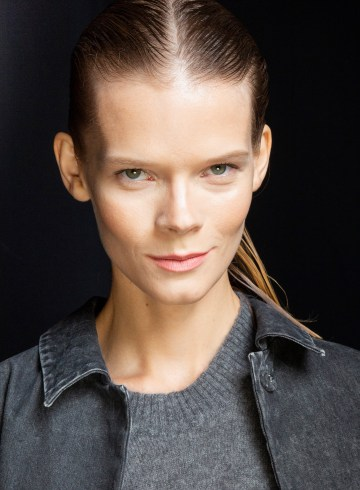 Sally Lapointe Spring 2019 Fashion Show Backstage Beauty