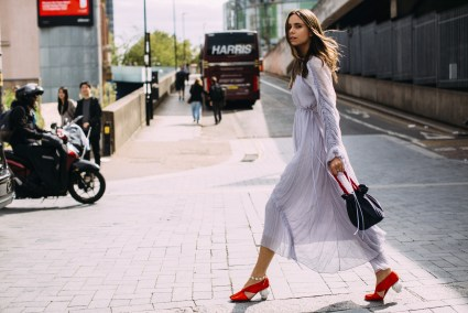 London Fashion Week Street Style Spring 2019 Day 3