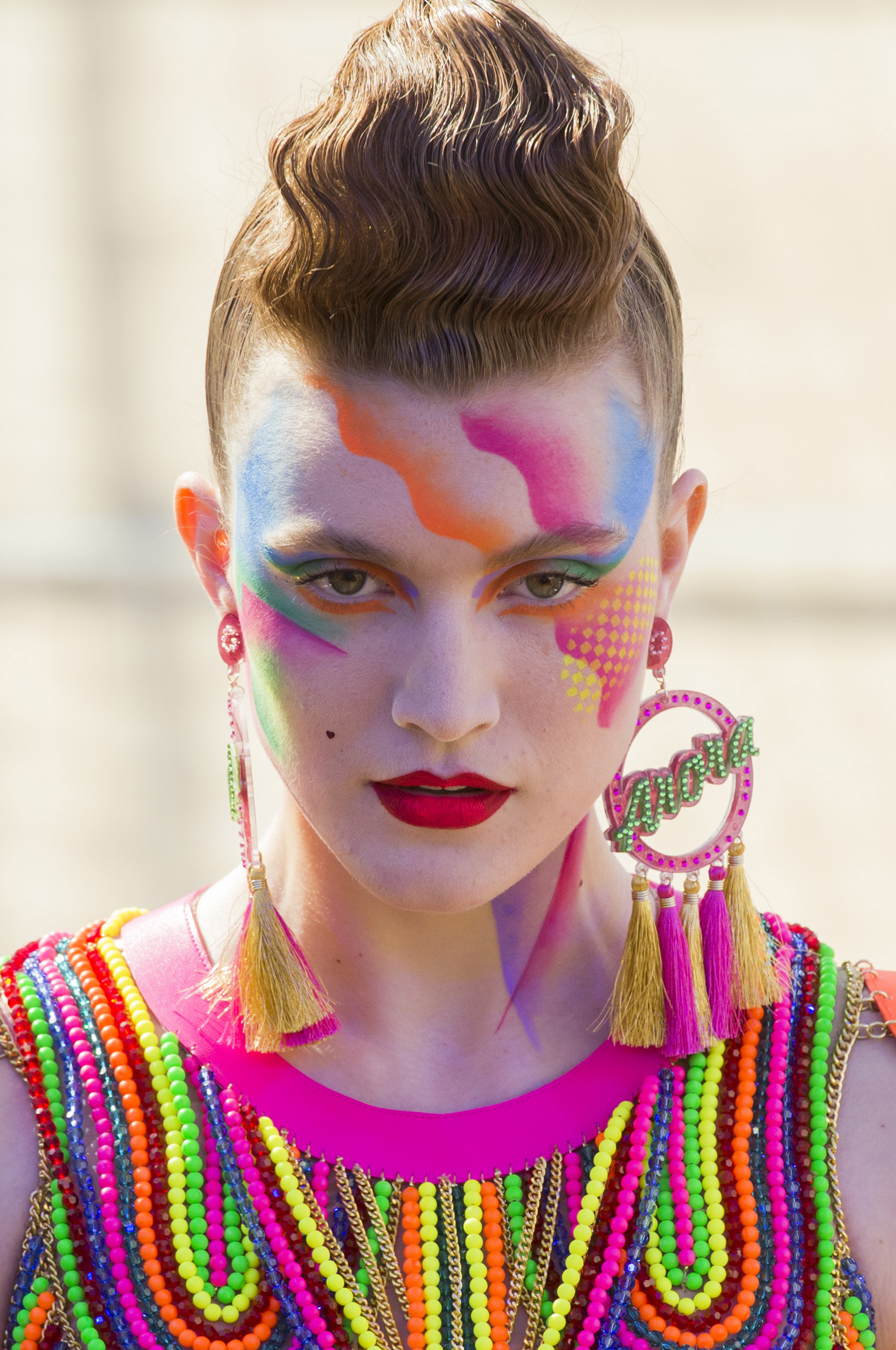 Manish Arora Spring 2019 Fashion Show Runway Beauty