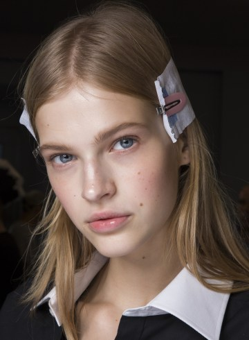 N 21 Spring 2019 Fashion Show Backstage Beauty