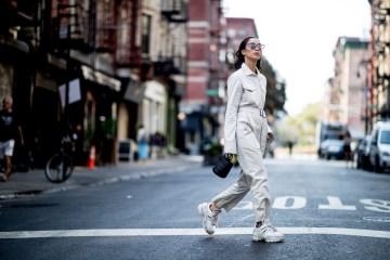 New York Fashion Week Street Style Spring 2019 Day 1