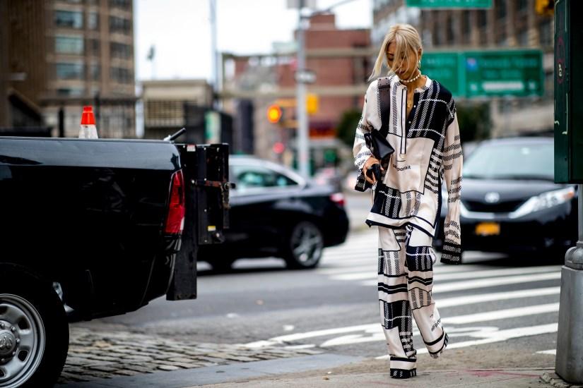 New York Fashion Week Street Style Spring 2019 Day 4