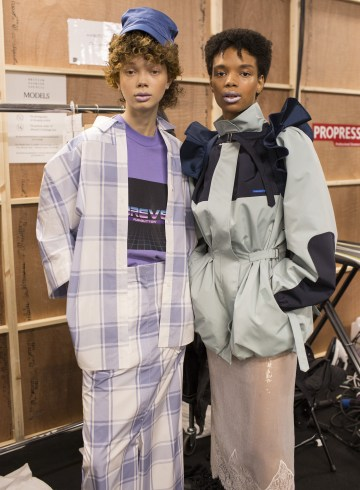 Pushbutton Spring 2019 Fashion Show Backstage