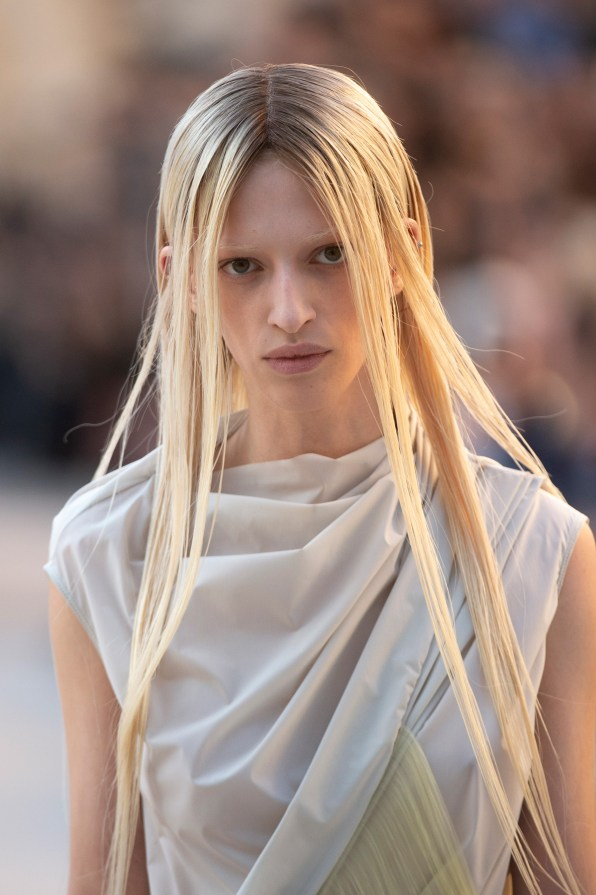 Rick Owens Bis Spring 2019 Fashion Show Runway Beauty