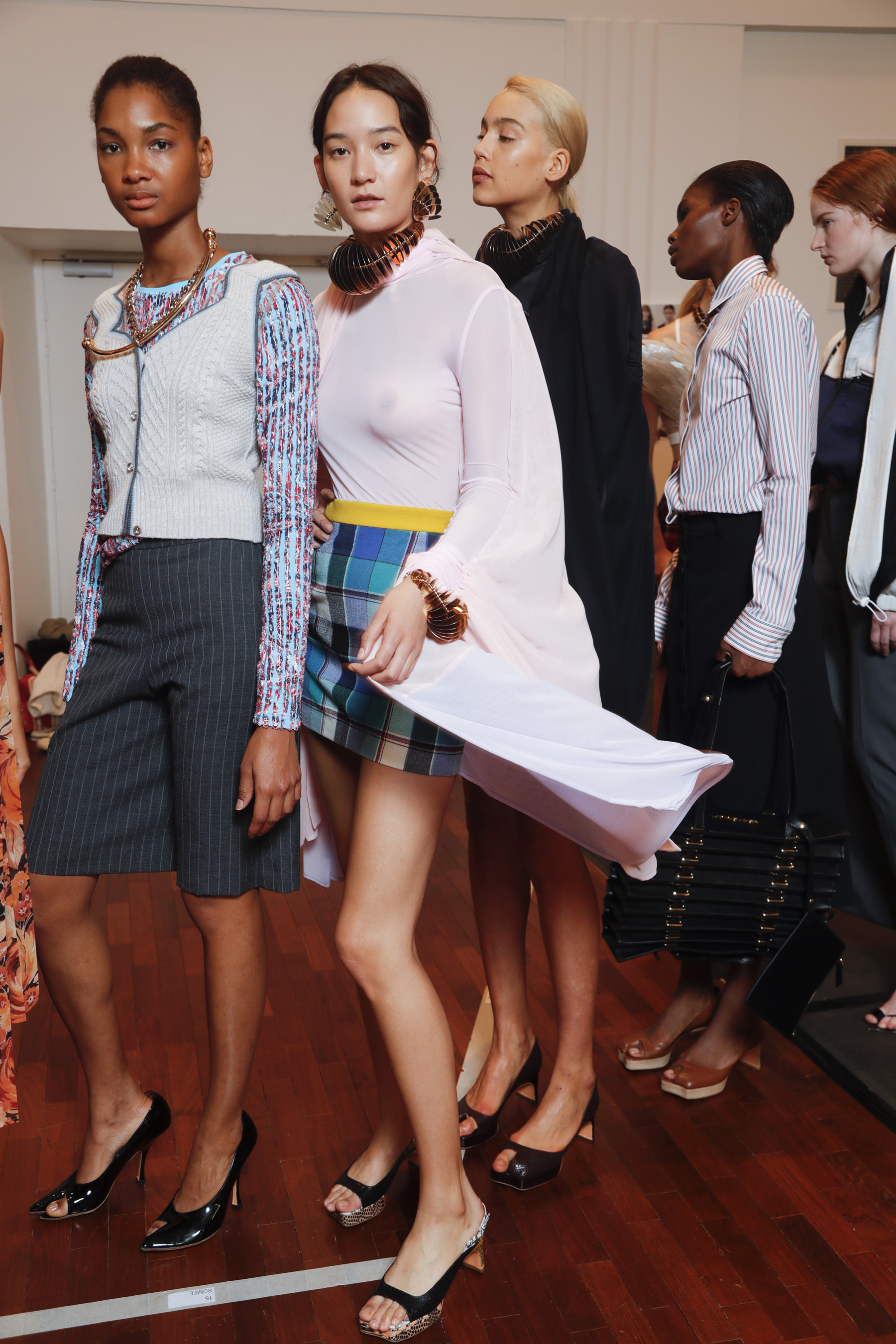 Y Project Spring 2019 Fashion Show Backstage Cont.