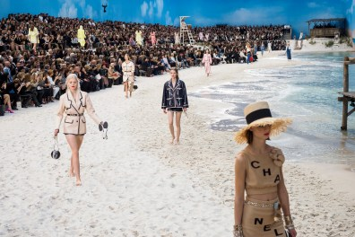 Chanel Spring 2019 Fashion Show Atmosphere
