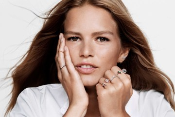 Dior Joaillerie Holiday 2019 Ad Campaign with Anna Ewers