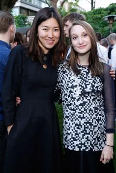 Rejina Pyo and Phoebe English