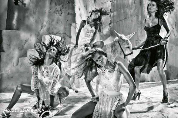 Dolce & Gabanna | Spring 2011 by Steven Klein