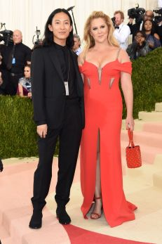 Alexander Wang and Amy Schumer in Alexander Wang