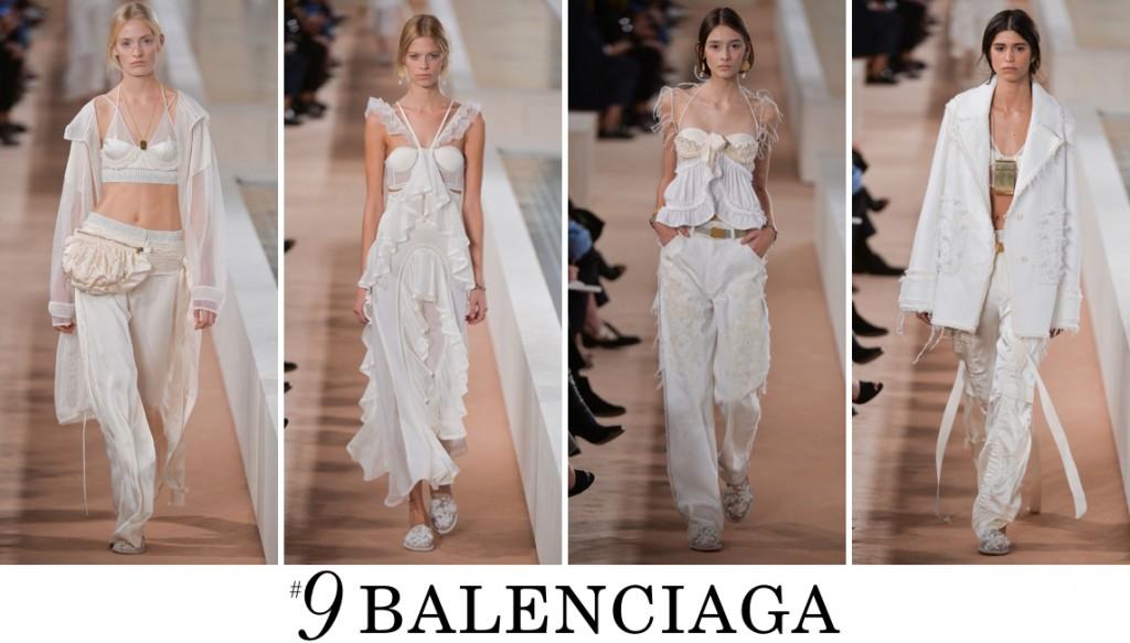 Balenciaga  Spring 2016 Fashion Show Top 10 Photo