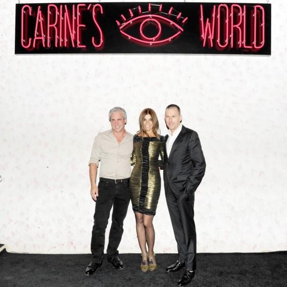 Dennis Freedman, Carine Roitfeld, Mark Lee