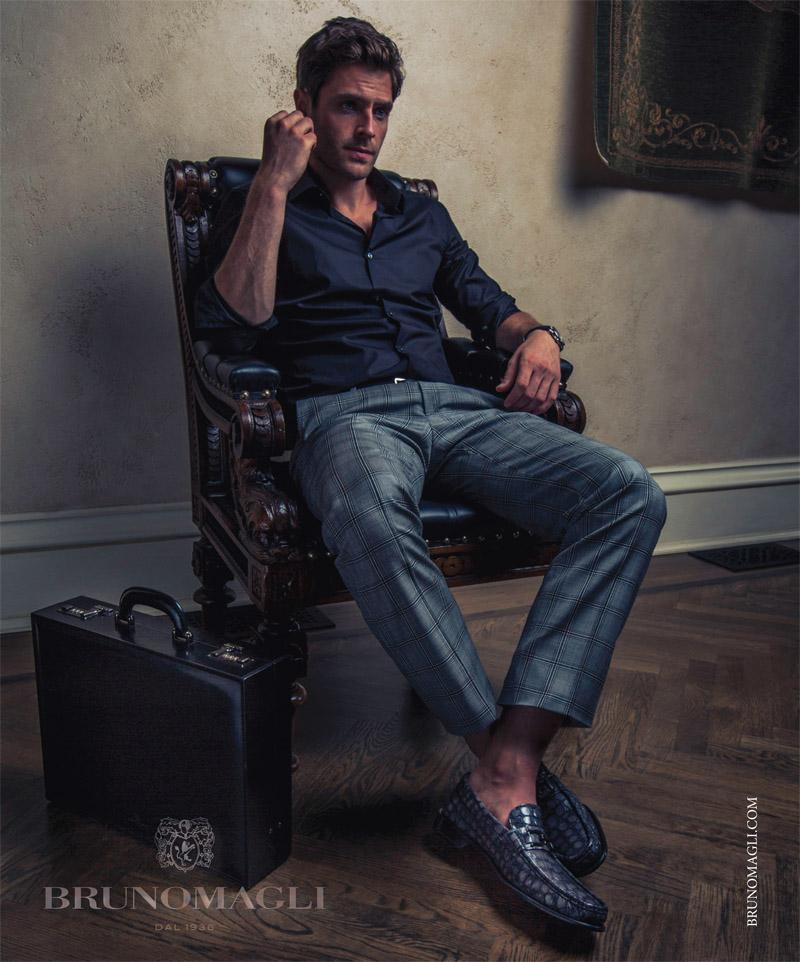 Bruno Magli fall 2015 ad campaign photo