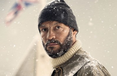 Dominic West as Sir Ernest Shackleton