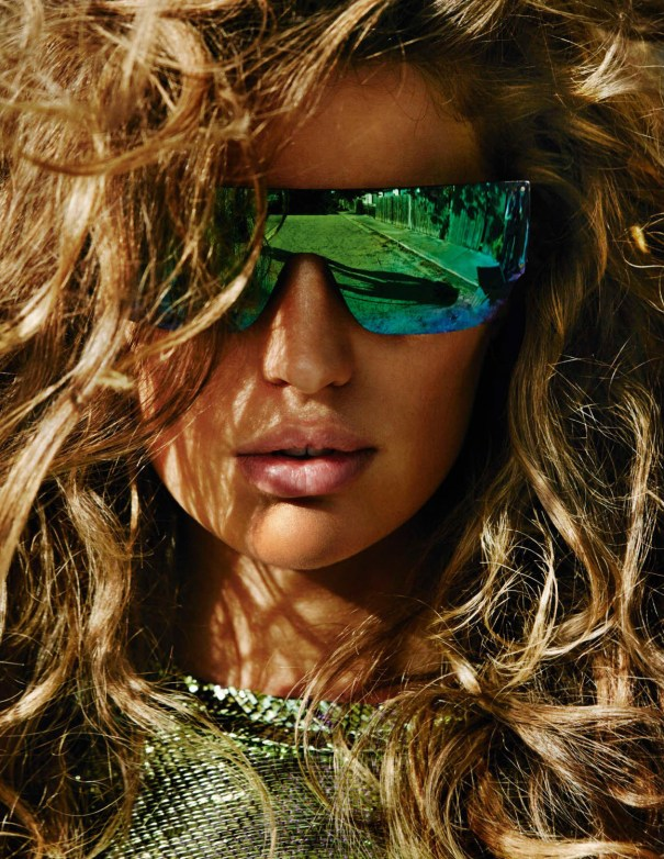 Cameron Russell, Vogue Paris   April 2014