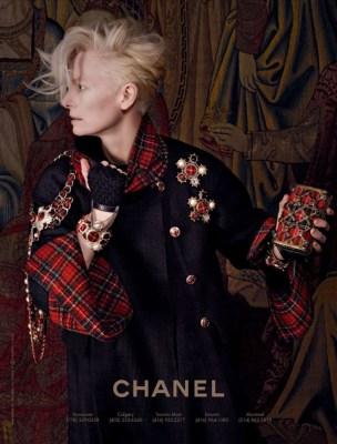 Chanel FW 2013 Karl Lagerfeld Tilda Swinton