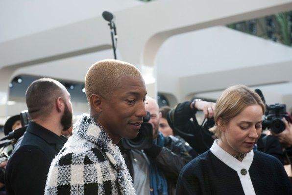 Pharrell Williams at Chanel