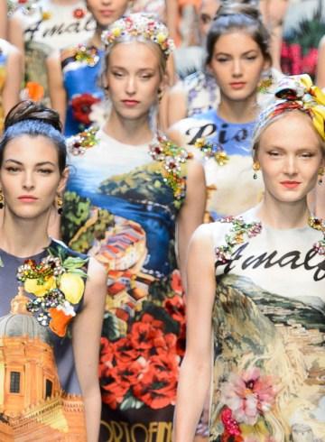 Dolce & Gabbana Sprign 2016 Fashion show Photo
