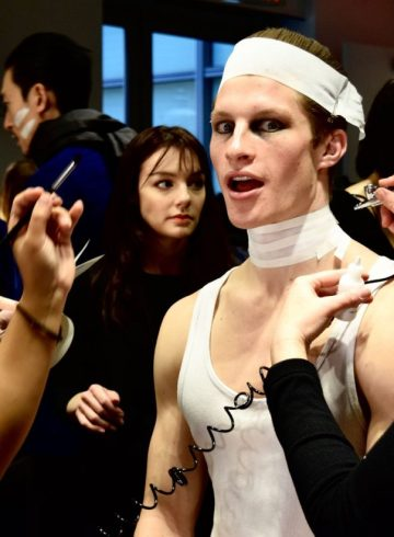 EFM Fall 2017 Menswear Fashion Show Backstage