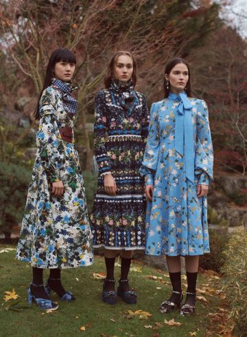 Erdem Pre-Fall 2018 Lookbook