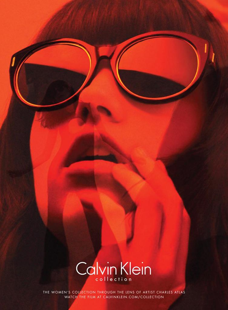 Grace Hertzel calvin klein collection ad fall 2015 photo