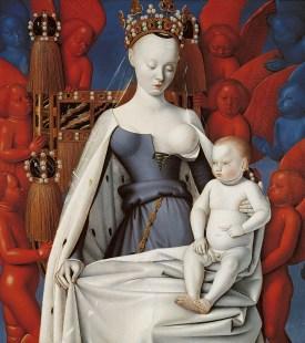 Madonna lactans by Jean Fouquet