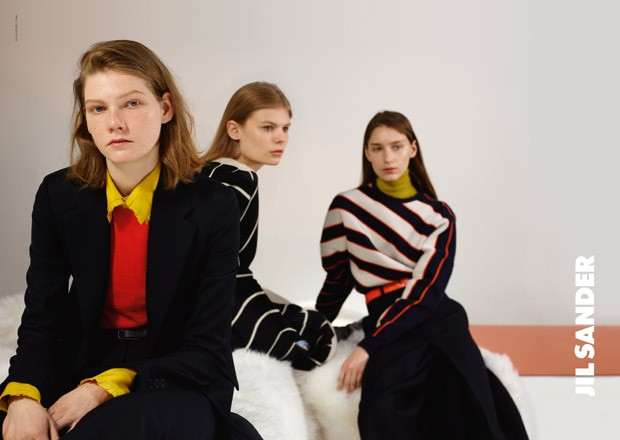 jil sander fall 2015 ad photo