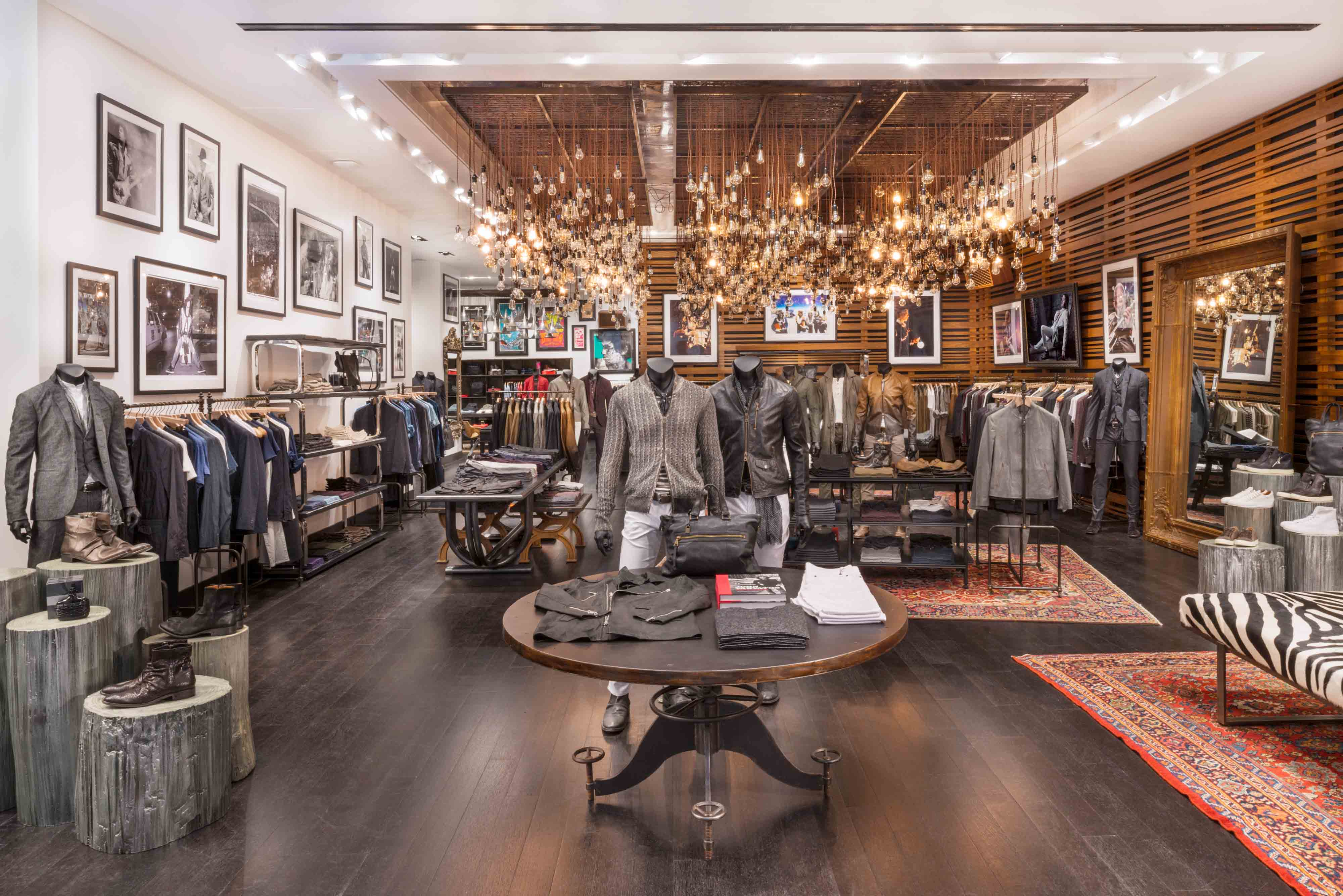 John Varvatos World Trade Center Store Scout The Impression # Expo Muebles Wtc D'Europe