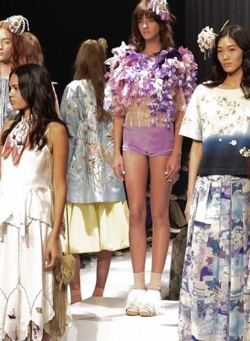 Keita Maruyama Spring 2016 Fashion Show Photo