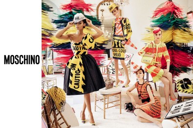 Moschino Spring 2016 Campaign