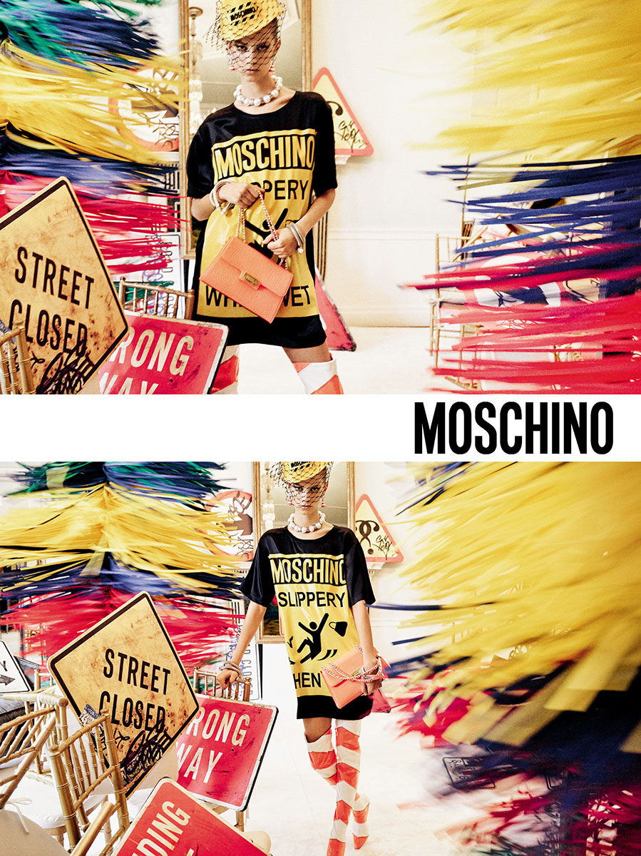 Moschino Spring 2016 Campaign