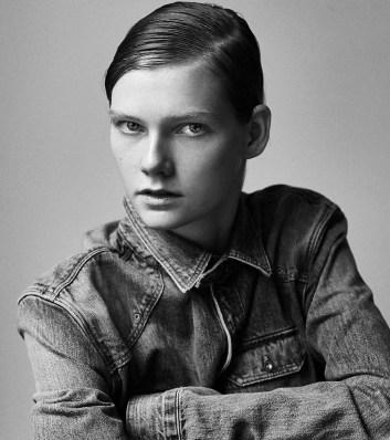 Marland Backus model photo