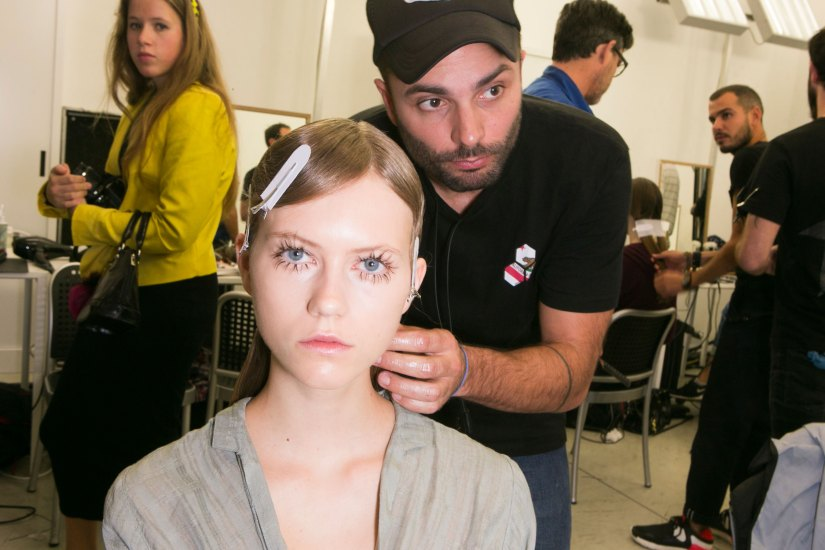 Marni-backstage-beauty-spring-2016-fashion-show-the-impression-010