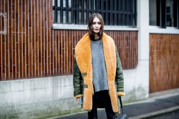 The Best of The Impression's Milan Fashion Week Models Off-Duty Street Style Fall 2017 - Day 3