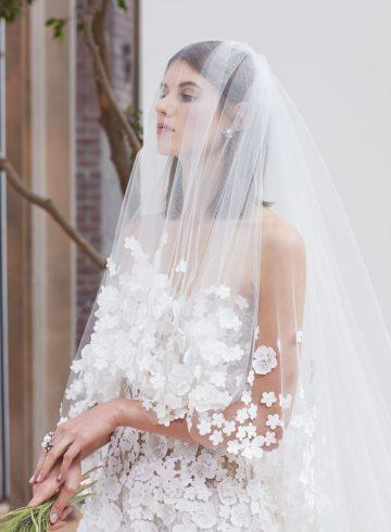 Oscar de la Renta Spring 2018 Fashion Show Bridal