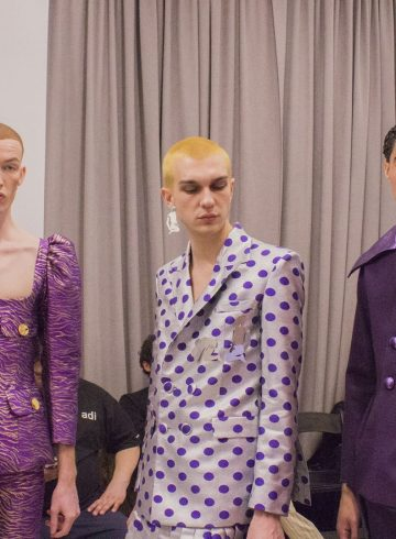 Palomo Spain Fall 2017 Menswear Fashion Show Backstage